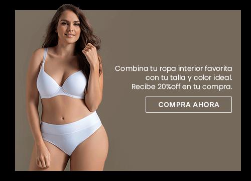 db4cb91b4189 Imagen de mujer en ropa interior blanca